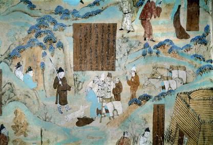 Merchants on the Silk Road
