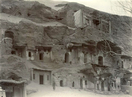 Cave shrines at Dunhuang