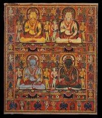 Shenrab Miwo, bottom-left. Source: http://www.hindupedia.com/en/Tonpa_Shenrab_Miwoche