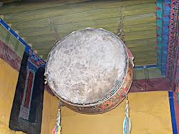 Drum in the Potala palace